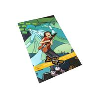 Full color A4 art paper give you customized comic book printing