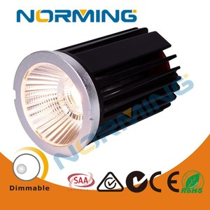 9w mr16 module cob dimmable commercial spotlight for supermarket