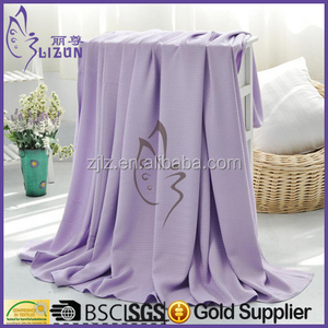 Factory Baby Blankets Pure Bamboo Fiber Natural Blankets Super Soft