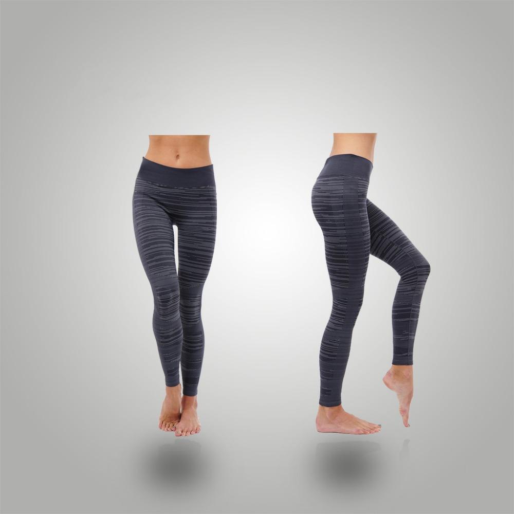 Özel süblimasyon yoga tozluk 88% polyester 12% spandex sıkıştırma pantolon