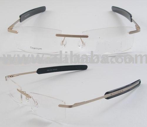 7ea645164 3 Piece Rimless Eyeglass Frames Designer Frames - Buy Eyeglasses ...