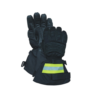 Best quality Heat Resistant Firefighter Glove EN659 Standard Firefighting Gloves