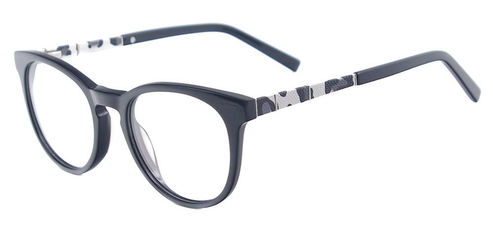 Latest Model Acetate Spectacle Frame Women Round Retro Eyeglasses ...