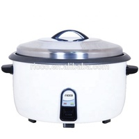 Industrial Big size electric drum rice cooker for restaurant use