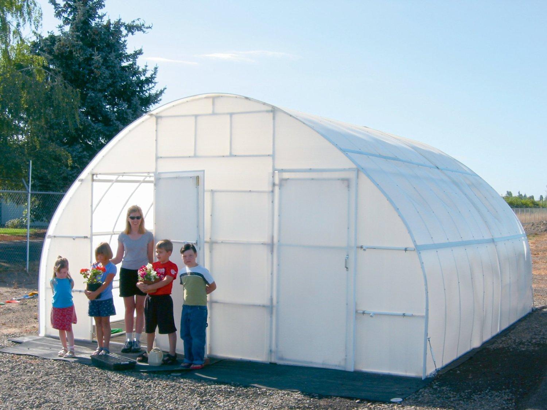 "Solexx Conservatory Greenhouse 5MM DELUXE 16'x20'x9'6"""