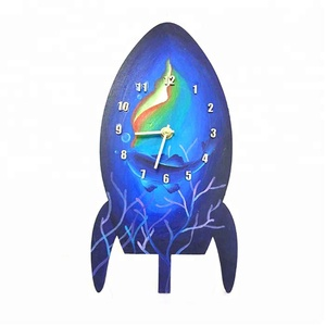Space Theme Assemble Clock Kids Educational Toys