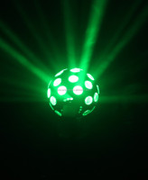 12w Mini Single Head Roll Moving Led Crystal Magic Ball Light For ...