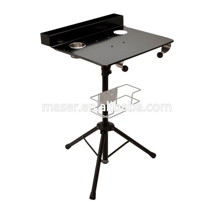 pliable Table Encre De Acier Organisateur Portable Tatouage Accessoires Maquillage Inoxydable Travail Plateau Station En OkZiTPXu