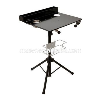 Organisateur Travail Encre Plateau En Accessoires De Maquillage Acier Table Station Portable Inoxydable pliable Tatouage qARj34L5