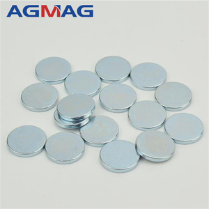 Customized strong power disc shape ndfeb round magnets with holes