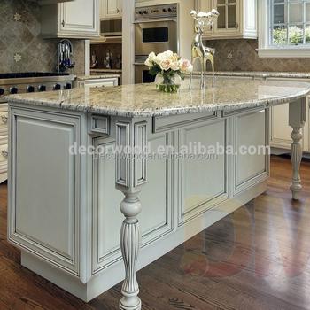 Cocina Americana Muebles De Cocina De Diseño Inacabado Jengibre Esmaltado  Gabinete De Cocina - Buy Cocina Americana Muebles De Cocina De Diseño,Sin  ...