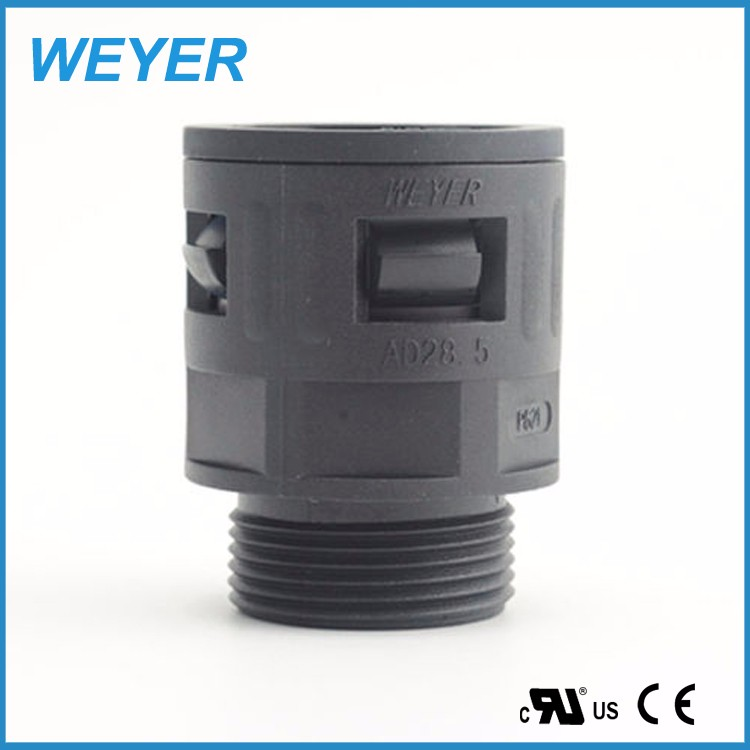 WQG1 Quick Screw Electrical Corrugated Hose/Conduit/Tube Connector, Corrugated Conduit Fitting