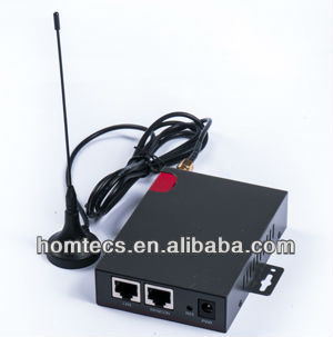Wireless Cellular gsm gprs 1wan gps modem for Data Transfer H20series