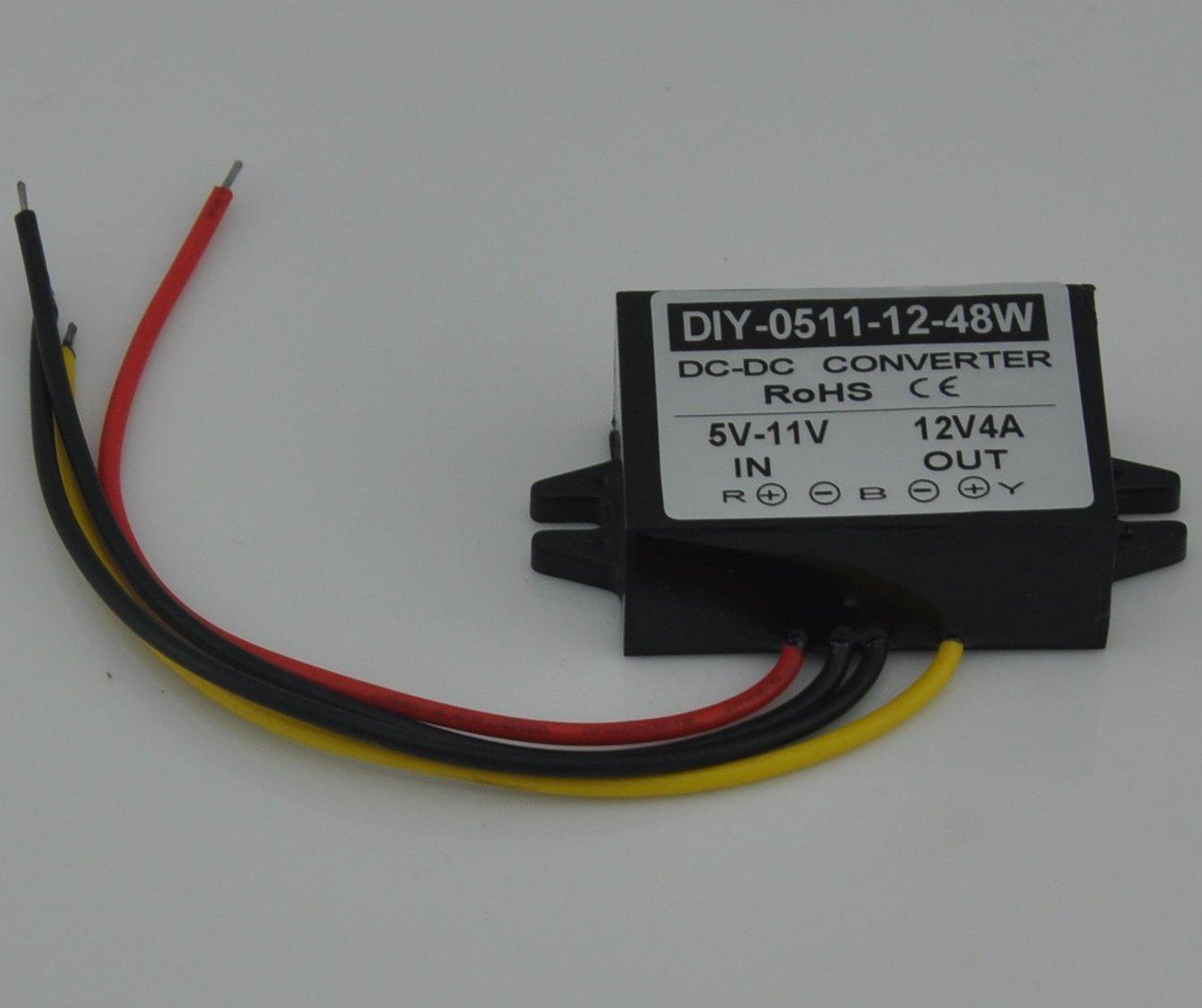 Cheap 12v To 48v Boost Find Deals On Line At 20v Dc Converter Circuit Wiring Get Quotations Step Up 5v 6v 7v 8v 9v 10v 11v 3a 4a