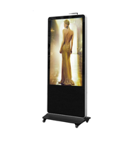49 inch touch screen kiosk,custom lcd and touch screen advertising player