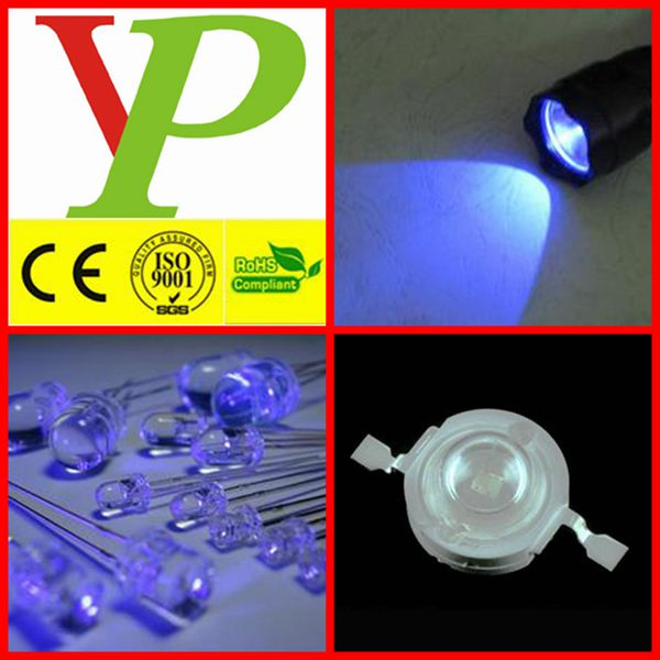 Alta potencia 1 W 3 W 365nm UV led
