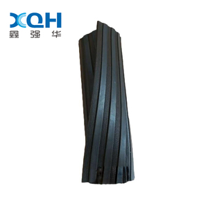 Anti-slip sbr rubber sheet mats ribbed rubber sheet