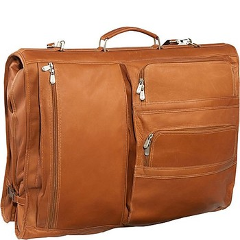 New Arrive Executive Design Leather Suit Cover Bag With Custom Garment Bags