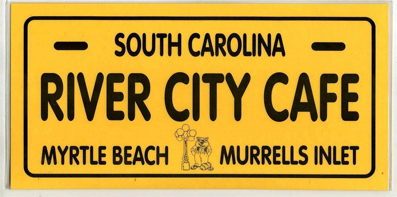 River City Cafe Menu Myrtle Beach Murrells Beach South Carolina