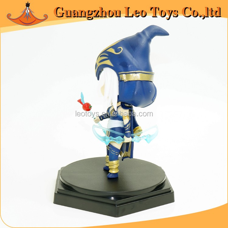 Popular Plastic League of Legends Toys Ashe Action Figure
