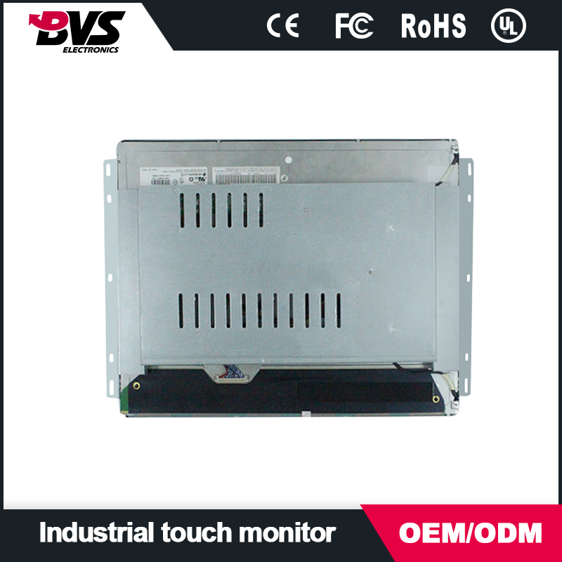 19 inch no frame lcd monitor with dvi vga input