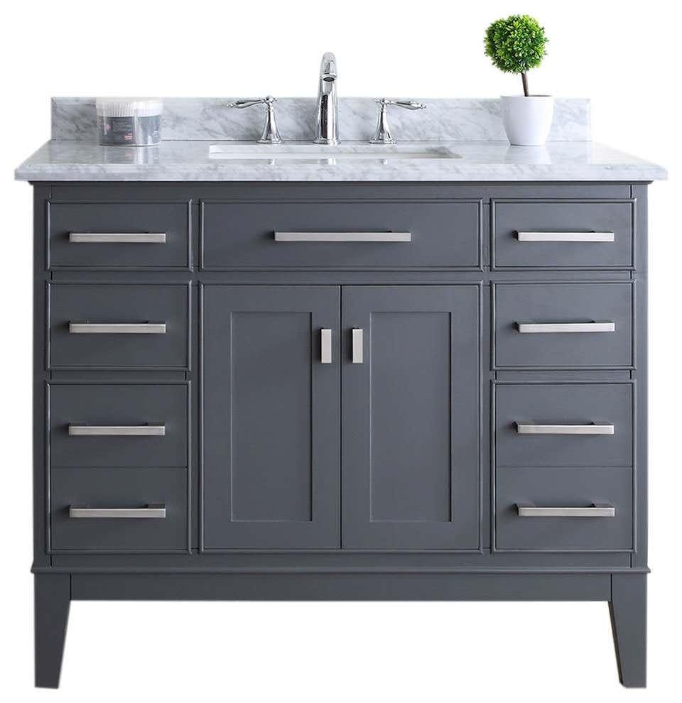 42 Inch Modern Bathroom Vanity Combo As Lowes - Buy 42 ...