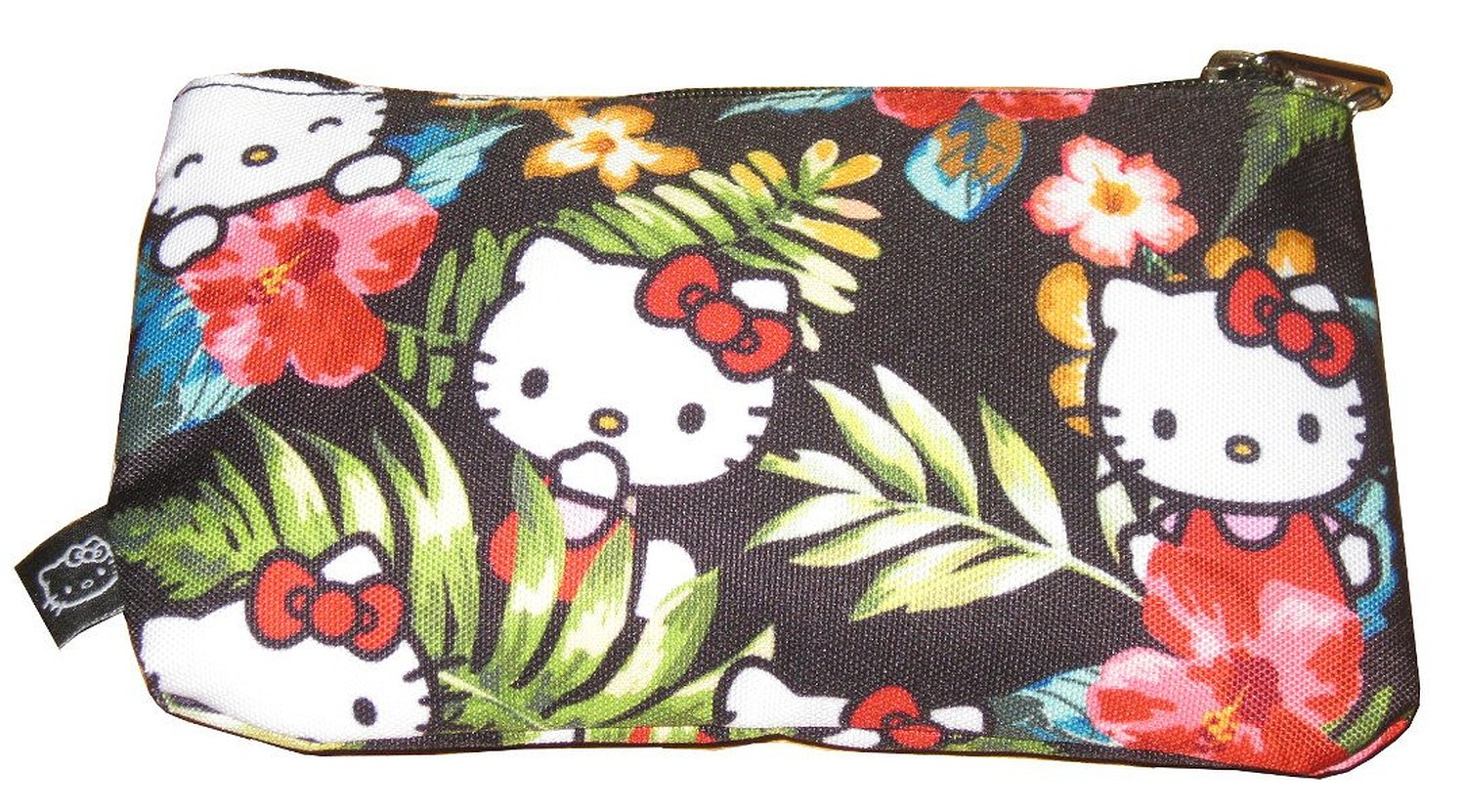 a7f407e89 Loungefly Hello Kitty Pencil Case-Licensed Hello Kitty Hawaiian Pencil Case
