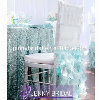 C009 Jenny Bridal Ruffled chair cover factory Wholesale Cheap Chair Covers & C009 Jenny Bridal Ruffled Chair Cover Factory Wholesale Cheap Chair ...