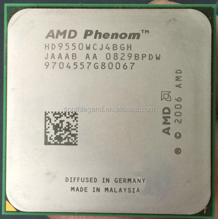 Black Edition AMD CPU Phenom X4-9850  2.5GHz Socket AM2