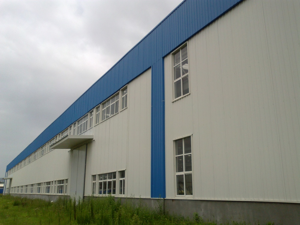 Low Prices Chinese Construction Design Large Span Prefabricated Steel Building