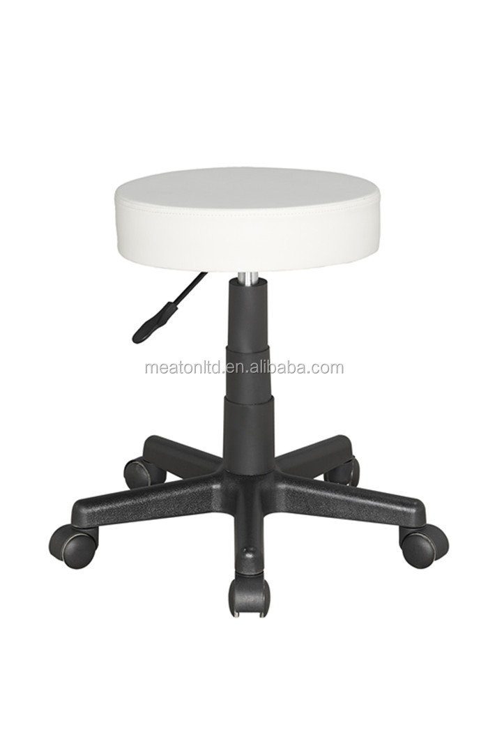 Faux Leather Saddle Stool With Casters Cl 2013 Buy