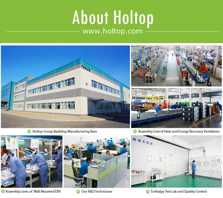 Passiv casa Sistema de HVAC de la bomba de calor con recuperación de energía HRV