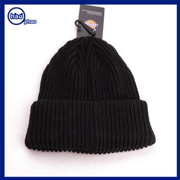 Yhao amazon supplier beanie custom hat taobao winter warm knit hat custom  hats and caps wholesale 22482caa656