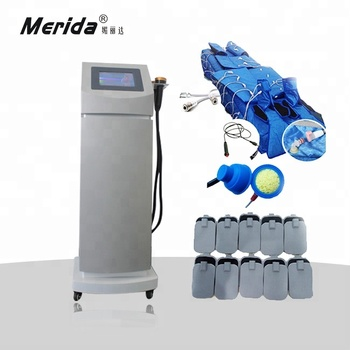 MD-217G High-Tech 3 in 1 pressotherapy machine/EMS slimming/Infrared Vacuum used beauty salon equipment for sale