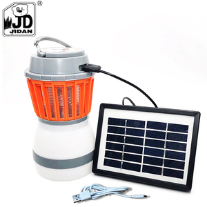 Rechargeable 2-in-1insect killer led light bulb Camping Lantern Tent Light Mosquito Killer