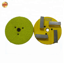 Wet and Dry Flexible Diamond Metal Polishing Pads for Concrete