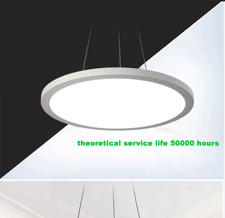 Best Office Hanging Lights Hot Sale Green Office Lighting Led Disk Hanging  Light Line Round With Hanging Lamp Logo