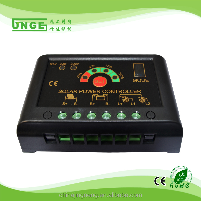 Epever 20a 10a Dual Battery Solar Charge Controller Regulator 12v/24v+meter Mt-1 High Quality Goods Electrical & Solar
