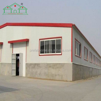 low cost high quality prefabricated steel structure warehouse & workshop manufacturer