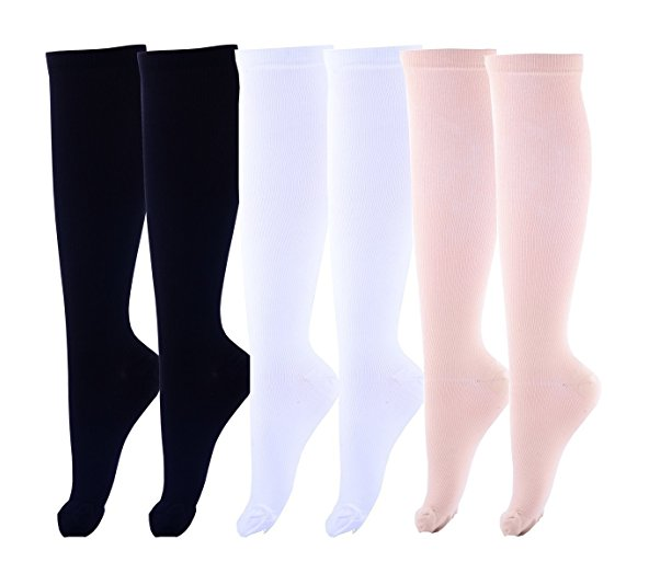 f262a734aa Compression Socks Foot Long Stockings High Graduated Anti Fatigue Varicose  Veins Socks For Men Women
