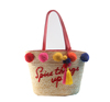 China Embroidery Design Ladies' Straw Bags