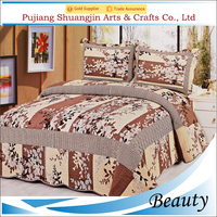 New design adult used breathable quilted wholesale sheet set for bed