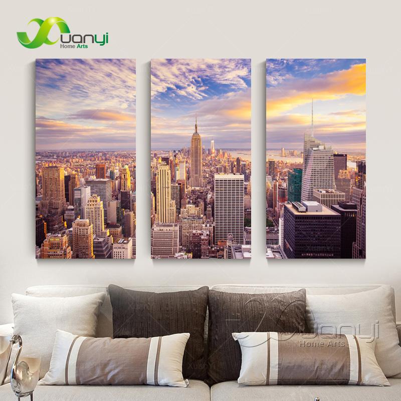 Aliexpress.com : Buy 3 Pieces Wall Art New York City