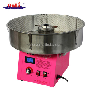 Digital cotton candy maker candy floss machine