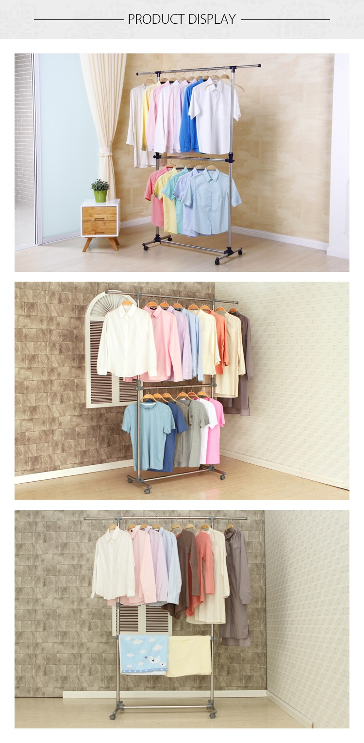 YOULITE clothing shirt drying rack display for Household