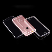 TPU color case for iphone 7 cover 360 degrees,for iphone 7 case 360 transparent