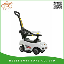 2017 new popular new pp kids mega car with push bar, music