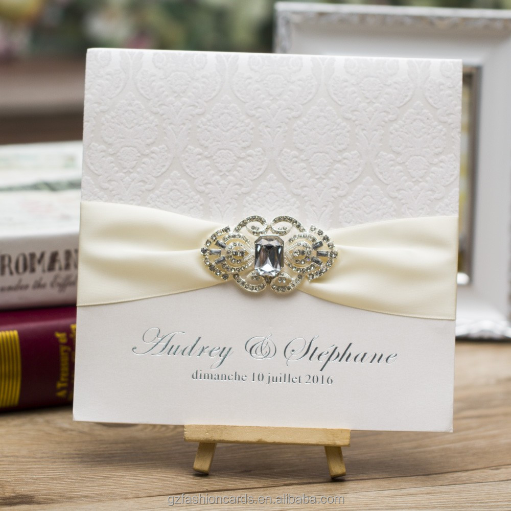 Rhinestone Wedding Invitations, Rhinestone Wedding Invitations ...