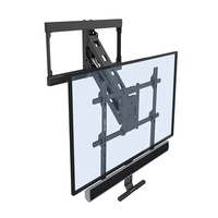 Fantastic Matel Fireplace Tilt TV Wall Mount Bracket 60 Inch For Flat Screens