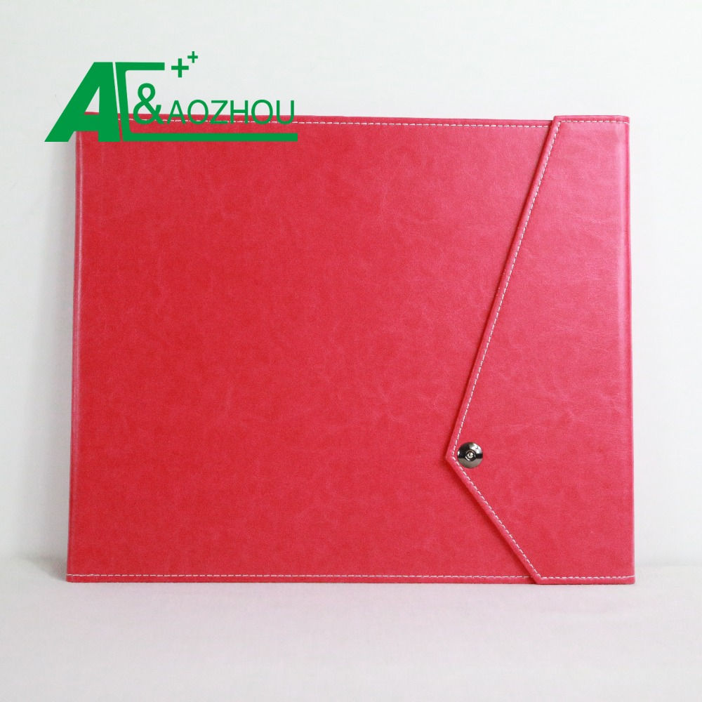 2018 newest pu leather file folder
